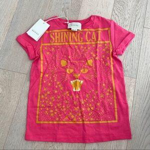 Gucci kids tshirt size 6 NWT